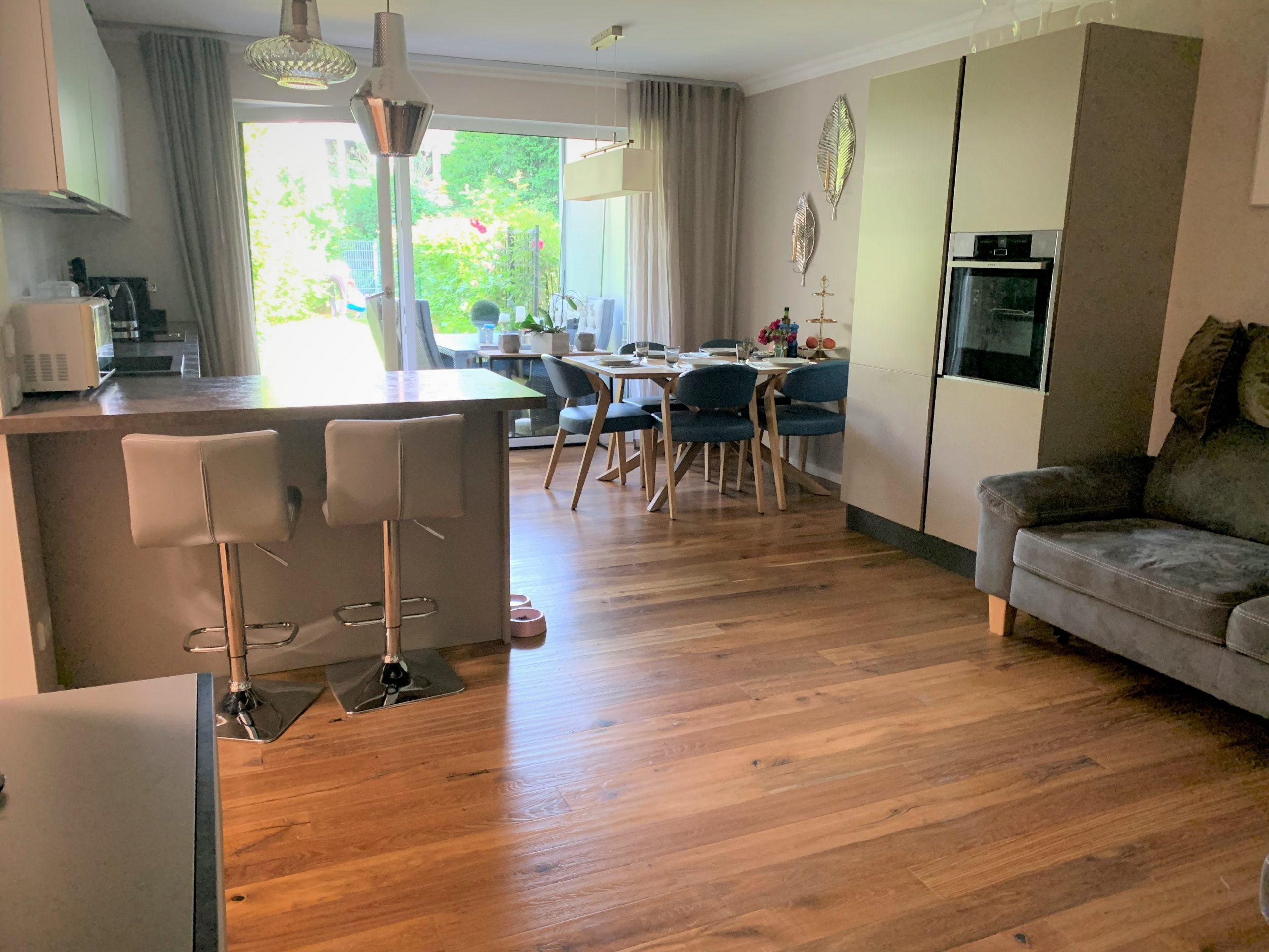 Wohnen in bester Stadtrandlage! Erdgeschoss- Wohlfühl-Wohnung mit schönem Gartenanteil München-Solln