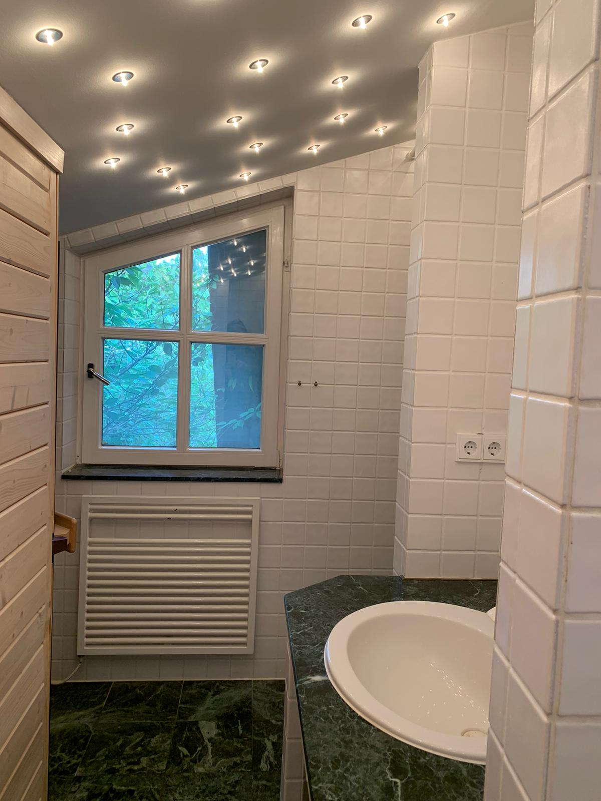 Duschbad mti Sauna