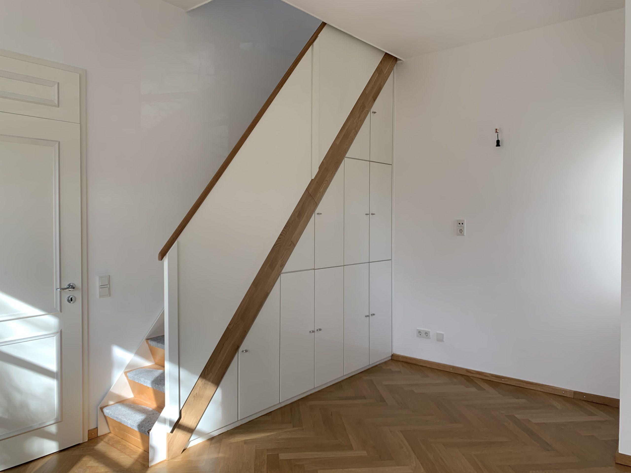 Schlafzimmer mit Aufgang Galerie